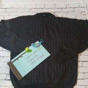 Vintage BACHRACH Mens Sweater dark grey size M